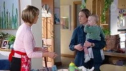 Alice Wells, Sonya Rebecchi, Hugo Somers in Neighbours Episode 7961