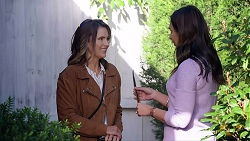 Amy Williams, Dipi Rebecchi in Neighbours Episode 7961
