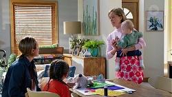 Sonya Rebecchi, Nell Rebecchi, Alice Wells, Hugo Somers in Neighbours Episode 7961