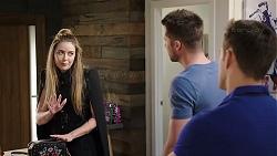Chloe Brennan, Mark Brennan, Aaron Brennan in Neighbours Episode 7962