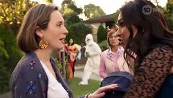 Sonya Mitchell, Alice Wells, Dipi Rebecchi in Neighbours Episode 7964