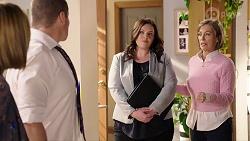 Sonya Mitchell, Toadie Rebecchi, Isabella Pinter, Alice Wells in Neighbours Episode 7964