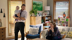 Hugo Somers, Toadie Rebecchi, Sonya Mitchell in Neighbours Episode 7964