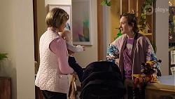 Alice Wells, Hugo Somers, Sonya Mitchell in Neighbours Episode 7964