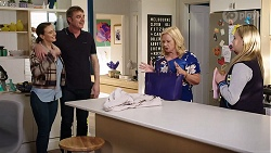 Amy Williams, Gary Canning, Sheila Canning, Xanthe Canning in Neighbours Episode 7965