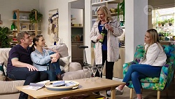 Gary Canning, Amy Williams, Sheila Canning, Xanthe Canning in Neighbours Episode 7965