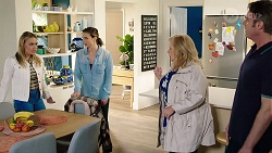 Xanthe Canning, Amy Williams, Sheila Canning, Gary Canning in Neighbours Episode 7965