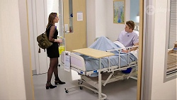 Piper Willis, Cassius Grady in Neighbours Episode 7966