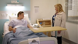 Cassius Grady, Sheila Canning in Neighbours Episode 7966