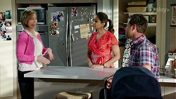 Alice Wells, Dipi Rebecchi, Shane Rebecchi in Neighbours Episode 7967