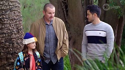 Nell Rebecchi, Toadie Rebecchi, David Tanaka in Neighbours Episode 7967