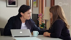 Leo Tanaka, Terese Willis in Neighbours Episode 7967