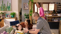 Nell Rebecchi, Sonya Mitchell, Toadie Rebecchi, Alice Wells in Neighbours Episode 7968