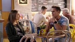Piper Willis, Aaron Brennan in Neighbours Episode 7968