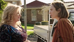 Sheila Canning, Sonya Mitchell in Neighbours Episode 7968