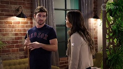 Ned Willis, Elly Conway in Neighbours Episode 7968