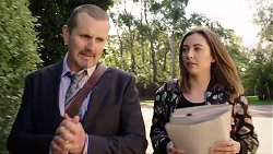 Toadie Rebecchi, Piper Willis in Neighbours Episode 7969