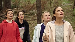 Susan Kennedy, Bea Nilsson, Xanthe Canning, Elly Conway in Neighbours Episode 7970