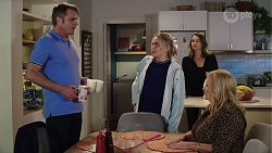 Gary Canning, Xanthe Canning, Amy Williams, Sheila Canning in Neighbours Episode 7970