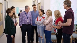 Susan Kennedy, Elly Conway, Karl Kennedy, Mark Brennan, Bea Nilsson, Xanthe Canning, Sheila Canning, Gary Canning in Neighbours Episode 7970