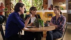Leo Tanaka, Terese Willis, Amy Williams in Neighbours Episode 7970
