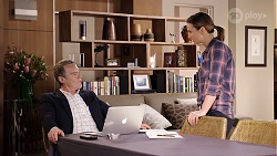Paul Robinson, Amy Williams in Neighbours Episode 7970