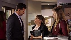 Pierce Greyson, Terese Willis, Chloe Brennan in Neighbours Episode 7970