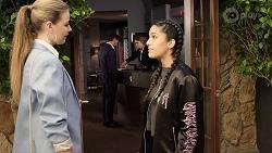 Chloe Brennan, Yashvi Rebecchi in Neighbours Episode 7972