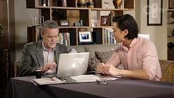 Paul Robinson, Leo Tanaka in Neighbours Episode 7972