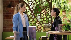 Chloe Brennan, Yashvi Rebecchi in Neighbours Episode 7972