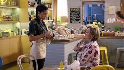 Yashvi Rebecchi, Alice Wells in Neighbours Episode 7972