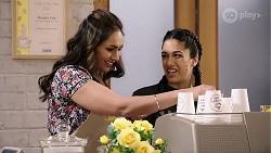 Dipi Rebecchi, Yashvi Rebecchi in Neighbours Episode 7972