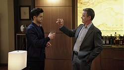 David Tanaka, Paul Robinson in Neighbours Episode 7973