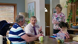 Karl Kennedy, Toadie Rebecchi, Alice Wells, Nell Rebecchi in Neighbours Episode 7973