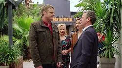 Gary Canning, Sheila Canning, Amy Williams, Paul Robinson in Neighbours Episode 7973