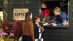 Amy Williams, Terese Willis, Gary Canning in Neighbours Episode 7974