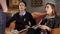 Yashvi Rebecchi, Piper Willis in Neighbours Episode 7975