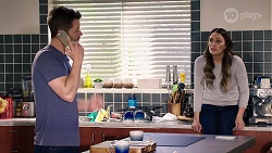 Mark Brennan, Elly Conway in Neighbours Episode 7975