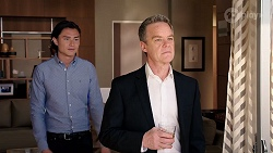 Leo Tanaka, Paul Robinson in Neighbours Episode 7975
