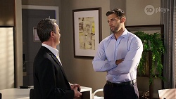 Paul Robinson, Pierce Greyson in Neighbours Episode 7976