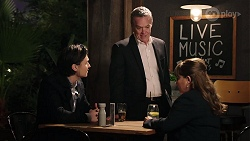 Leo Tanaka, Paul Robinson, Terese Willis in Neighbours Episode 7976