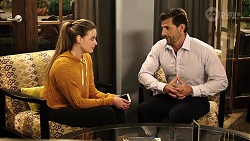 Chloe Brennan, Pierce Greyson in Neighbours Episode 7976