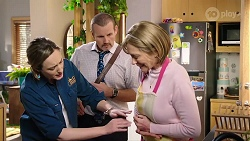 Sonya Mitchell, Toadie Rebecchi, Alice Wells in Neighbours Episode 7978