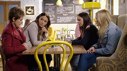 Susan Kennedy, Elly Conway, Bea Nilsson, Xanthe Canning in Neighbours Episode 7978