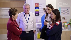 Susan Kennedy, Karl Kennedy, Elly Conway, Bea Nilsson in Neighbours Episode 7978