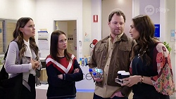 Elly Conway, Bea Nilsson, Shane Rebecchi, Dipi Rebecchi in Neighbours Episode 7978