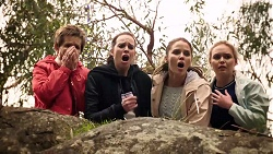 Susan Kennedy, Bea Nilsson, Elly Conway, Xanthe Canning in Neighbours Episode 7980