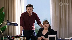 Leo Tanaka, Terese Willis in Neighbours Episode 7981