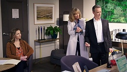 Amy Williams, Jane Harris, Paul Robinson in Neighbours Episode 7981