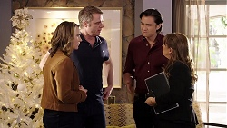 Amy Williams, Gary Canning, Leo Tanaka, Terese Willis in Neighbours Episode 7981